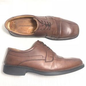 Johnston & Murphy Leather Oxfords Solid 20-7484